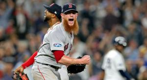 MLB: ALDS-Boston Red Sox at New York Yankees