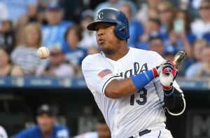 MLB: JUL 02  Indians at Royals