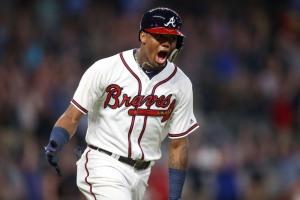 USP MLB: MIAMI MARLINS AT ATLANTA BRAVES S BBN ATL MIA USA GA