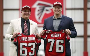 falcons o line draft