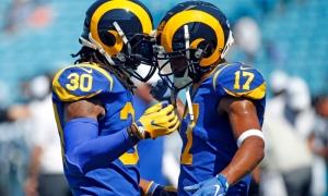 Rams Panthers Football