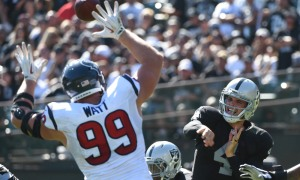 NFL: Houston Texans at Oakland Raiders