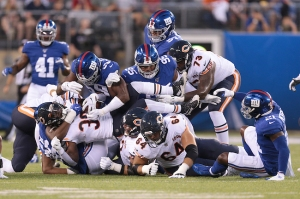 NFL: Preseason-Chicago Bears at New York Giants