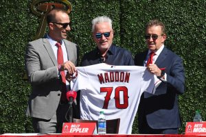 MLB: OCT 24 Joe Maddon Press Conference