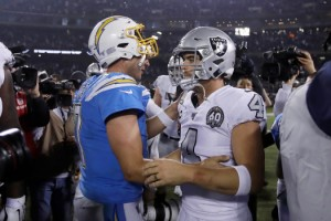 Philip Rivers, Derek Carr