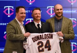 Minnesota Twins Introduce Josh Donaldson