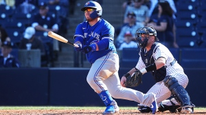MLB: FEB 22 Spring Training - Blue Jays at Yankees
